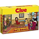 Clue Bobs Burgers Board Game   Themed Bob Burgers TV Show Clue Game   Officially Licensed Bob's Burgers Game   Solve The Mystery in This Unique Clue take on The Classic Board Game