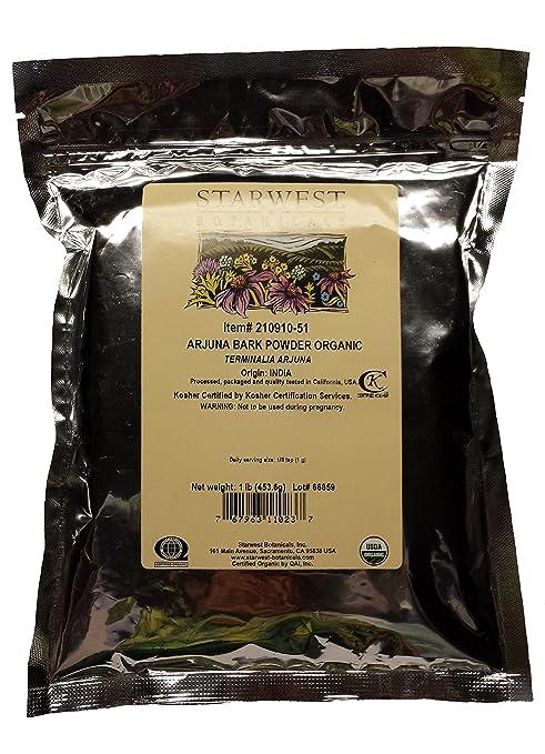 Arjuna Powder Organic - Starwest Botanicals