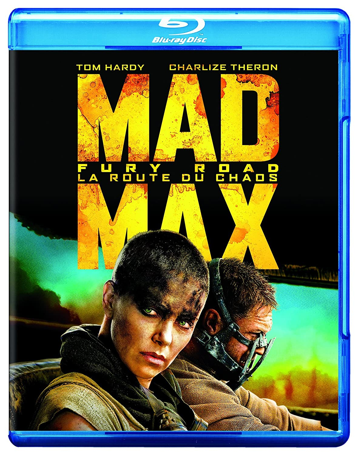Mad Max: Fury Road (Bilingual) [Blu-ray] Tom Hardy Charlize Theron Warner Home Video Action & Adventure