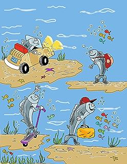 Cuando los atunes se van de paseo (Spanish Edition)