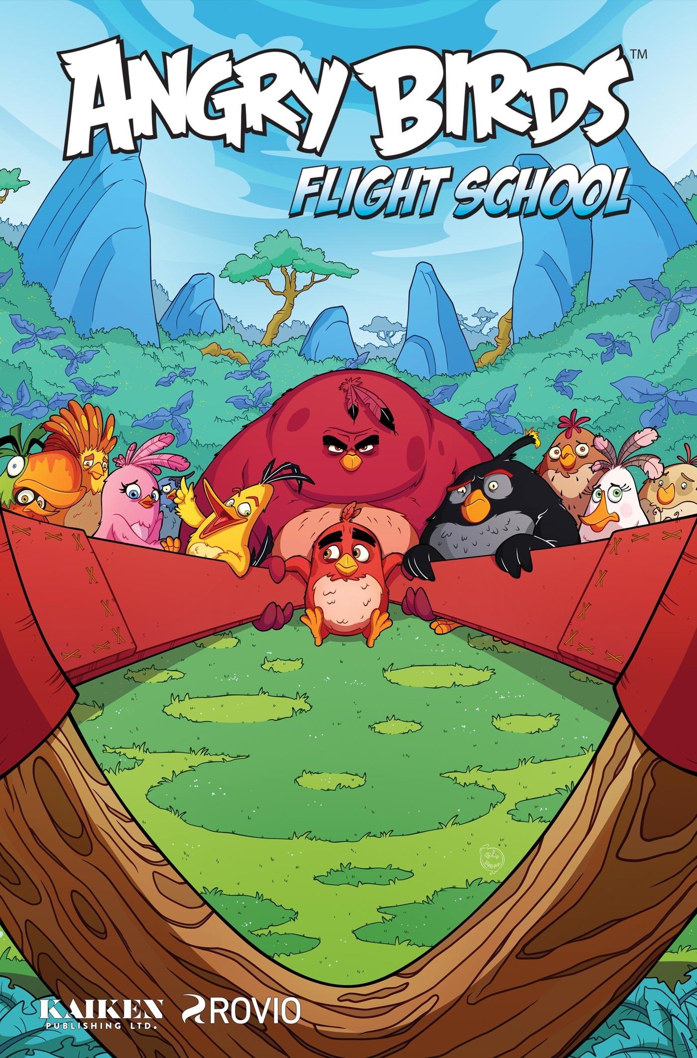 Angry Birds Comics: Flight School