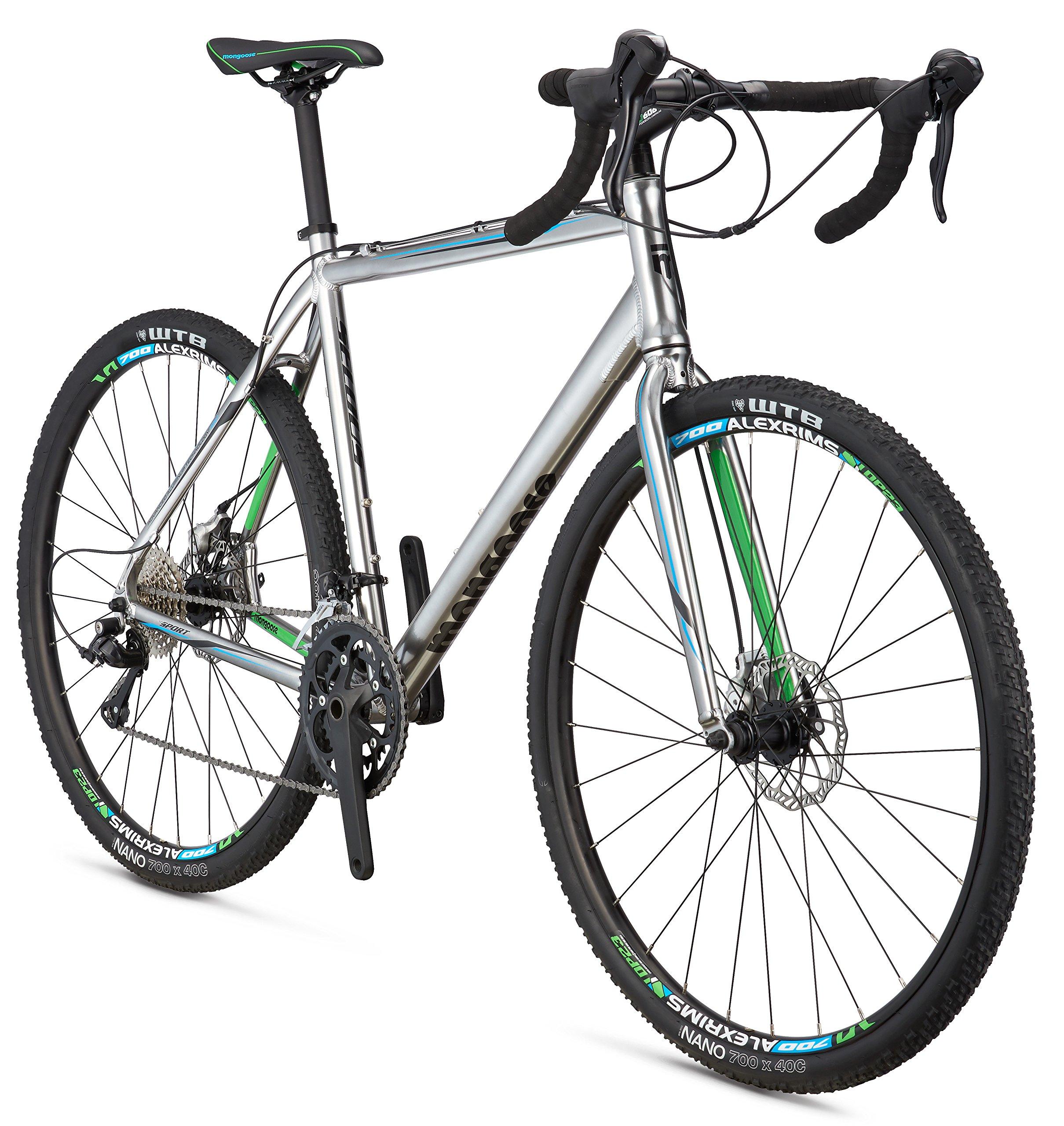 Mongoose Selous Sport Gravel Road Bike with 700cm Wheel   Mountain