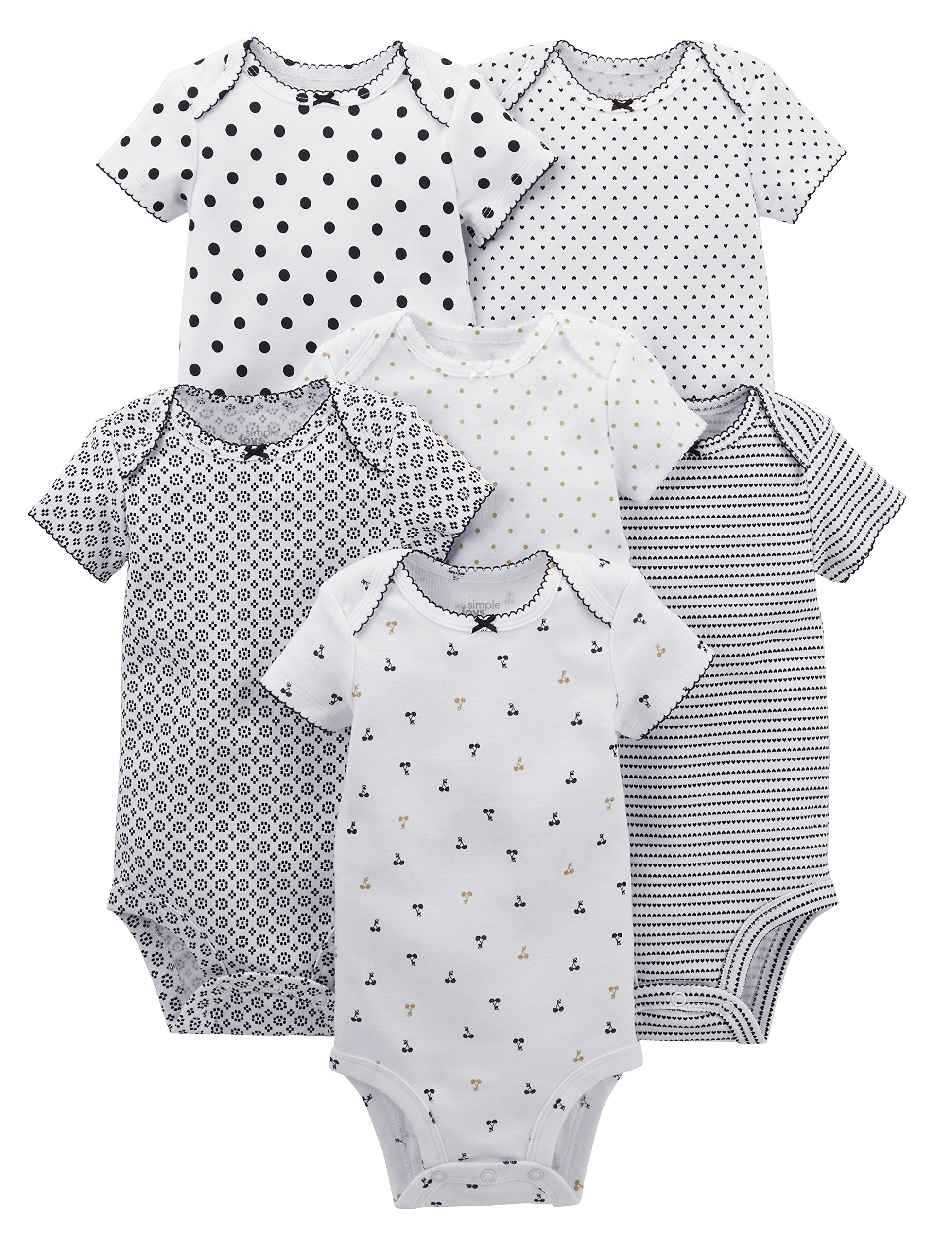 Simple Joys by Carter's Baby Girls' 6-Pack