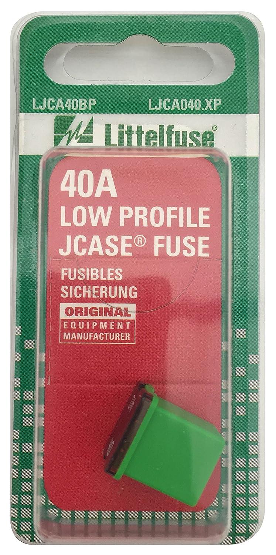 Littelfuse LJCA040.XP JCASE Low Profile 40 Amp Carded Fuse
