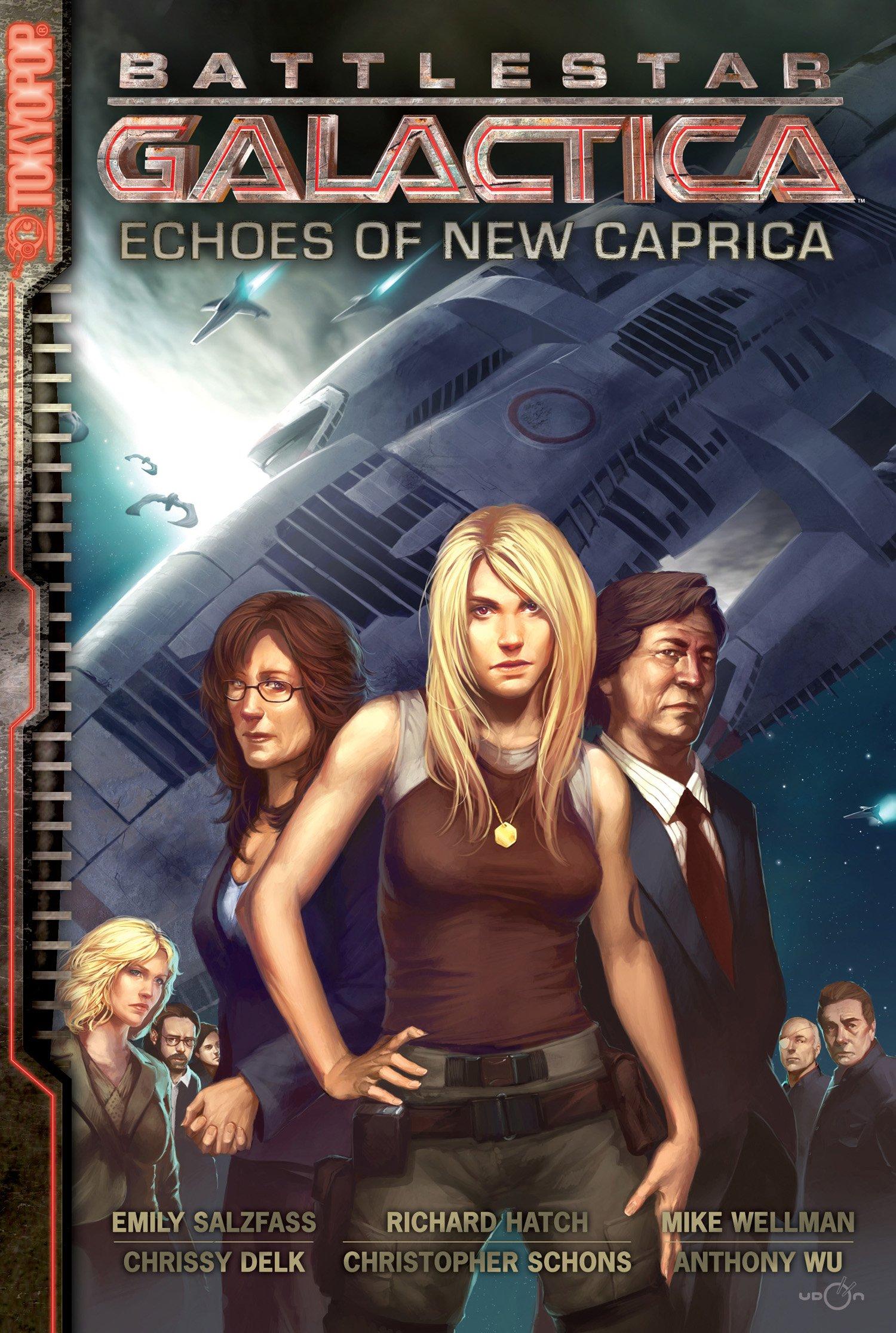 Read Online Battlestar Galactica: The Manga -- Echoes of New Caprica (v. 1) ebook