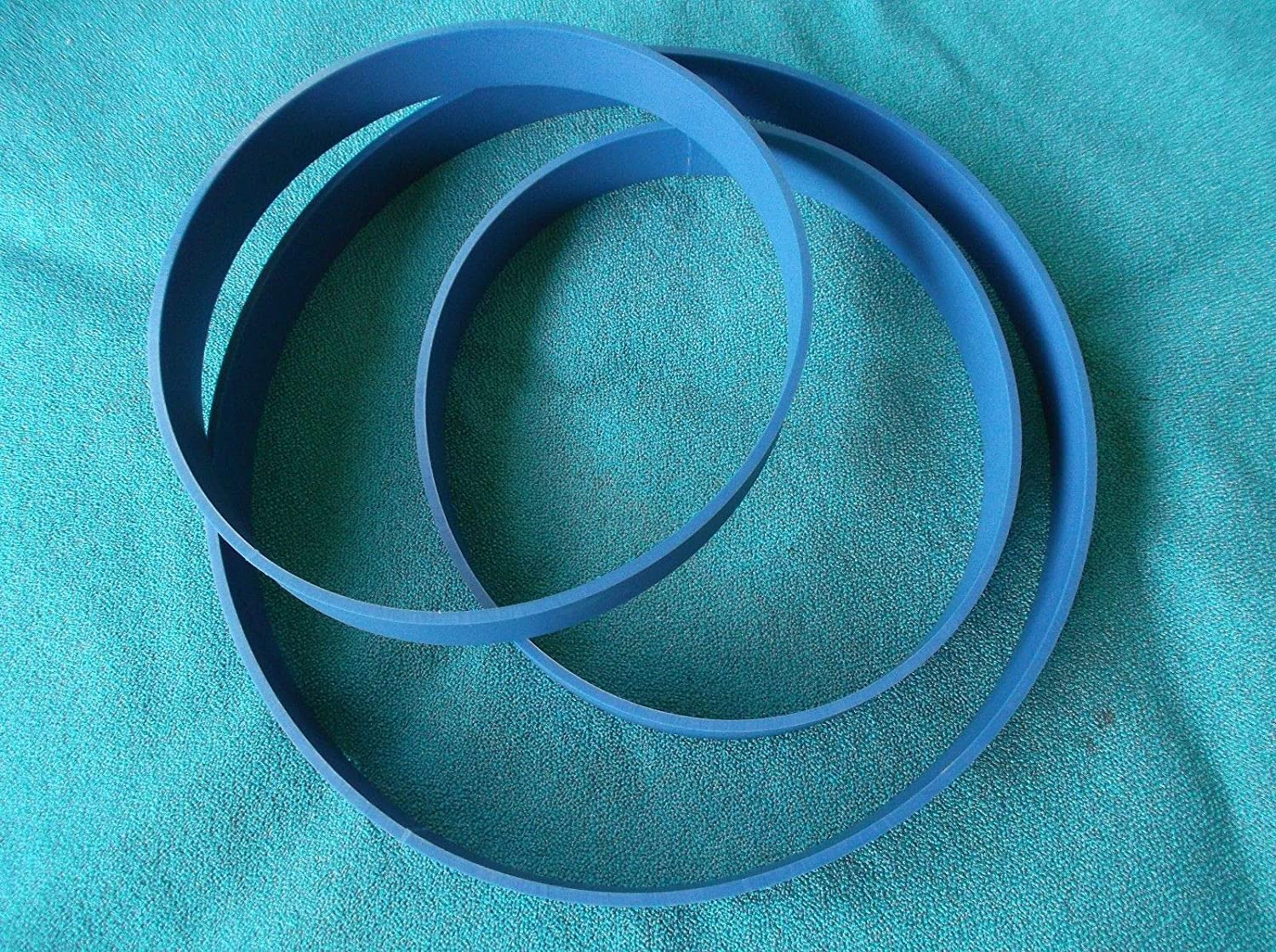 2 BLUE MAX URETHANE BAND SAW TIRES FOR DELTA  28-185 C HEAVY DUTY BAND SAW TIRES
