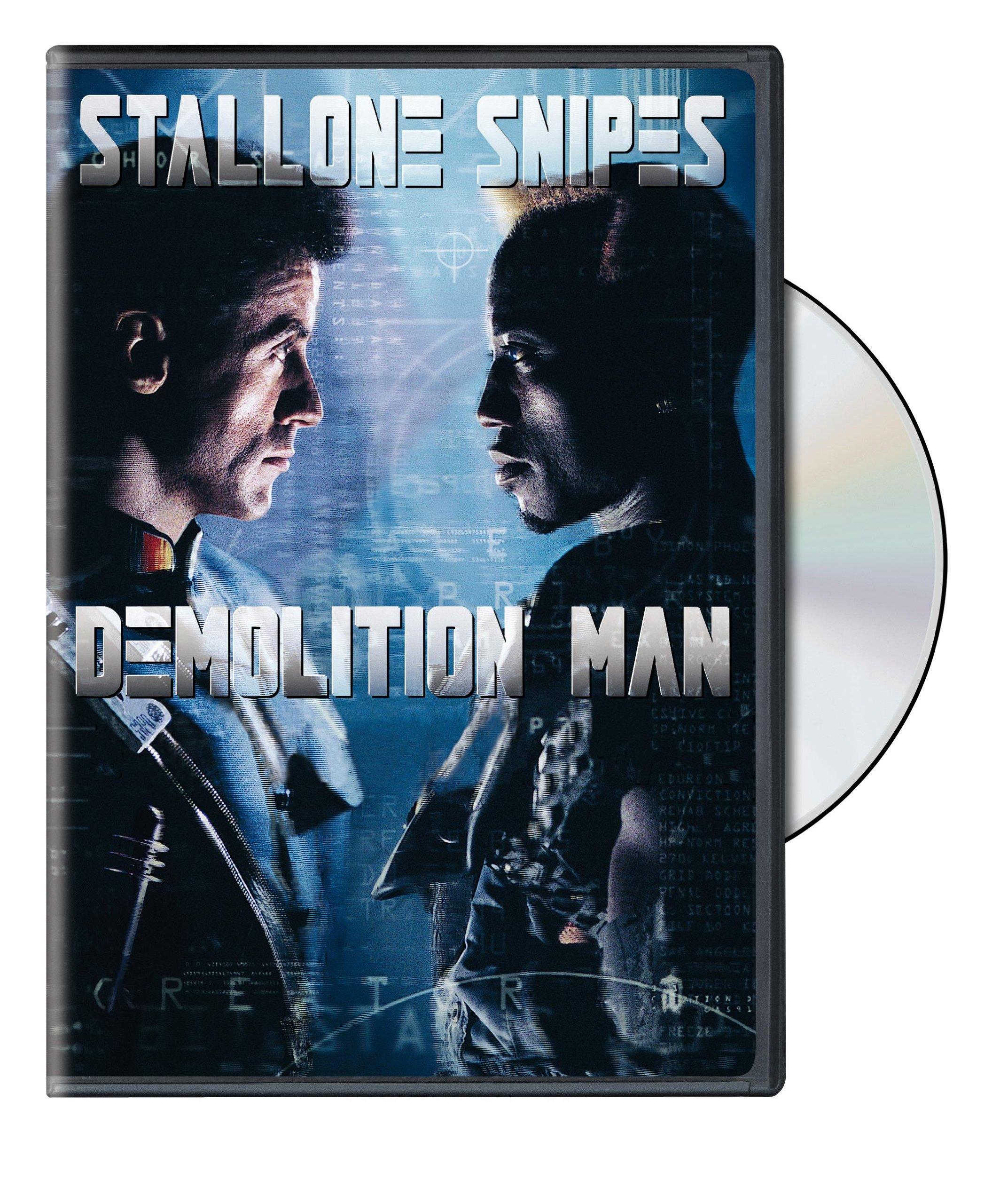 DVD : Demolition Man (, Dolby, AC-3, Repackaged, Amaray Case)