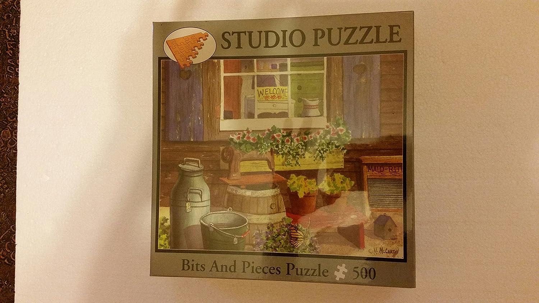 Bits and Pieces 500 Piece Puzzle Old Singer Studio Puzzle