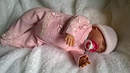 Amazon.es: Muñeca bebé Molly, Heavy, 19 cm de largo, cabeza ...