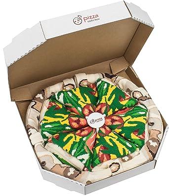 acquisto economico nuovo massimo spedizione gratuita Pizza Socks Box - Italiana - 4 paia di CALZINI Divertenti di ...