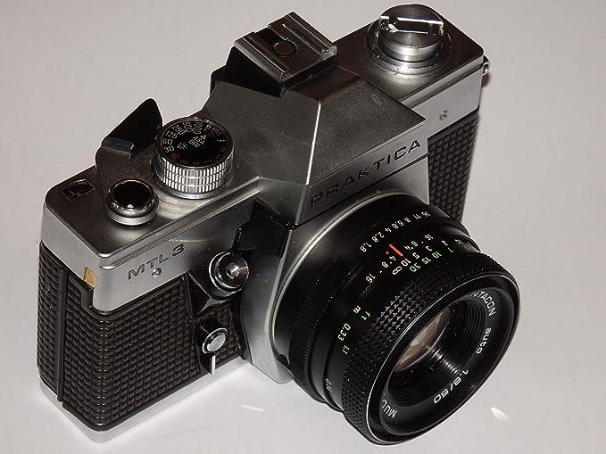 Pentacon praktica mtl camera with an australian federal