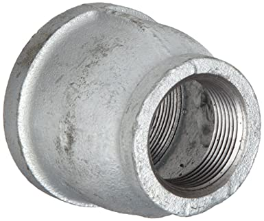 anvil malleable iron pipe fitting reducer coupling 1u0026quot x 1