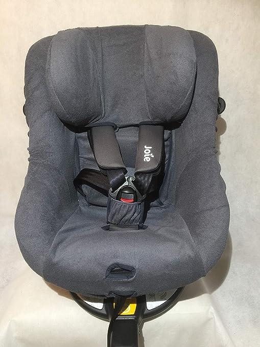 Sommerbezug Schonbezug Für Joie Spin 360 Gt Und I Spin 360 Frottee 100 Baumwolle Dunkelgrau Baby