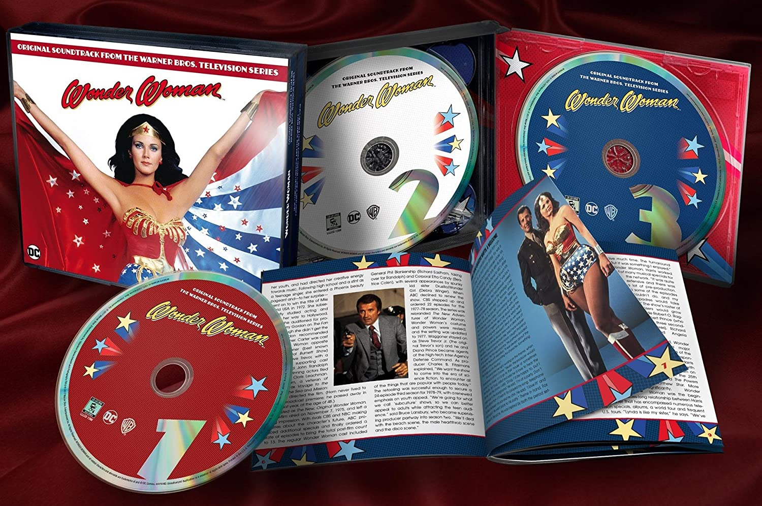 WONDER WOMAN - SOUNDTRACK (1970S TV) : 3CD SET