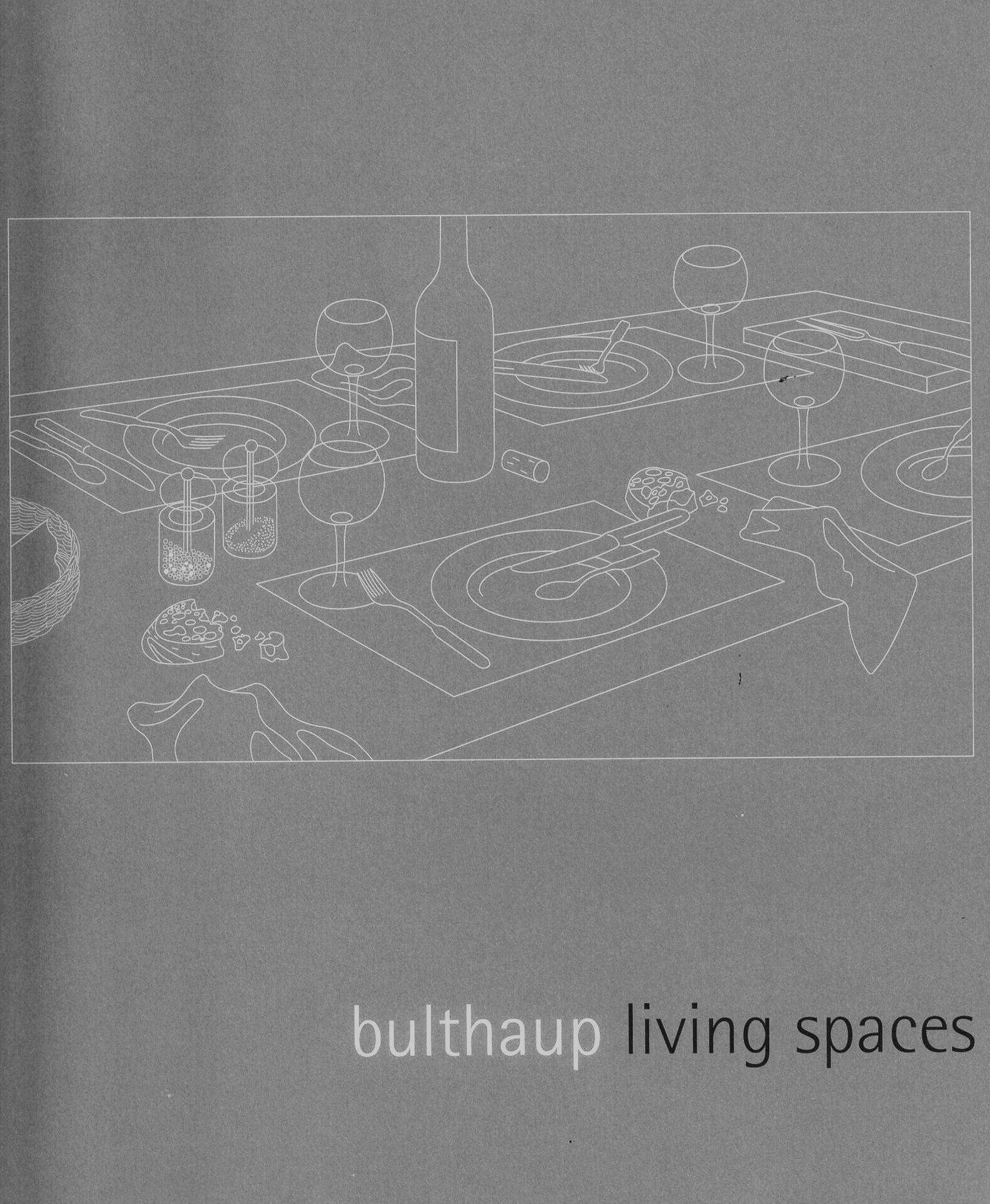 Bulthaup Bodenkirchen bulthaup living spaces bulthaup firm amazon com books