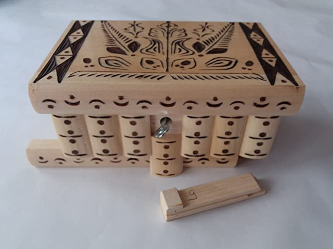 02606fd1b9141c New special natural with brown carving big puzzle box magic mystery secret  box tricky handcarved wooden box case jewelry box home decor brain teaser  ...