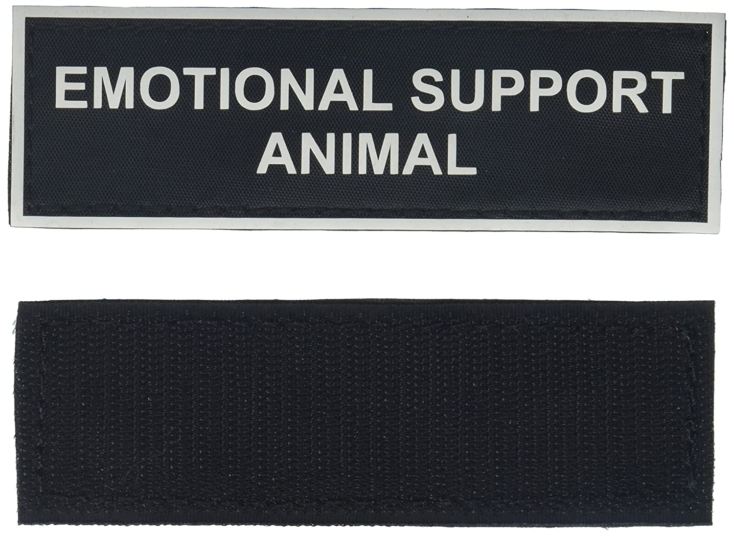 Emotional Support Animal Medium nylon velcro patches by Dean & Tyler.
