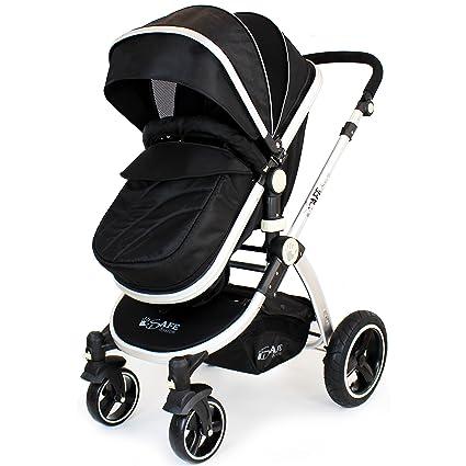 iSafe 2 en 1 sistema para cochecito de bebé (negro): Amazon.es: Bebé