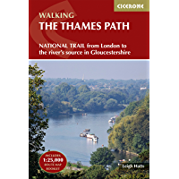 The Thames Path: National Trail from London to the river's source in Gloucestershire (Cicerone Walking)