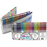 ECR4Kids GelWriter Gel Pens Set Premium Multicolor in Folding Case (100-Count)