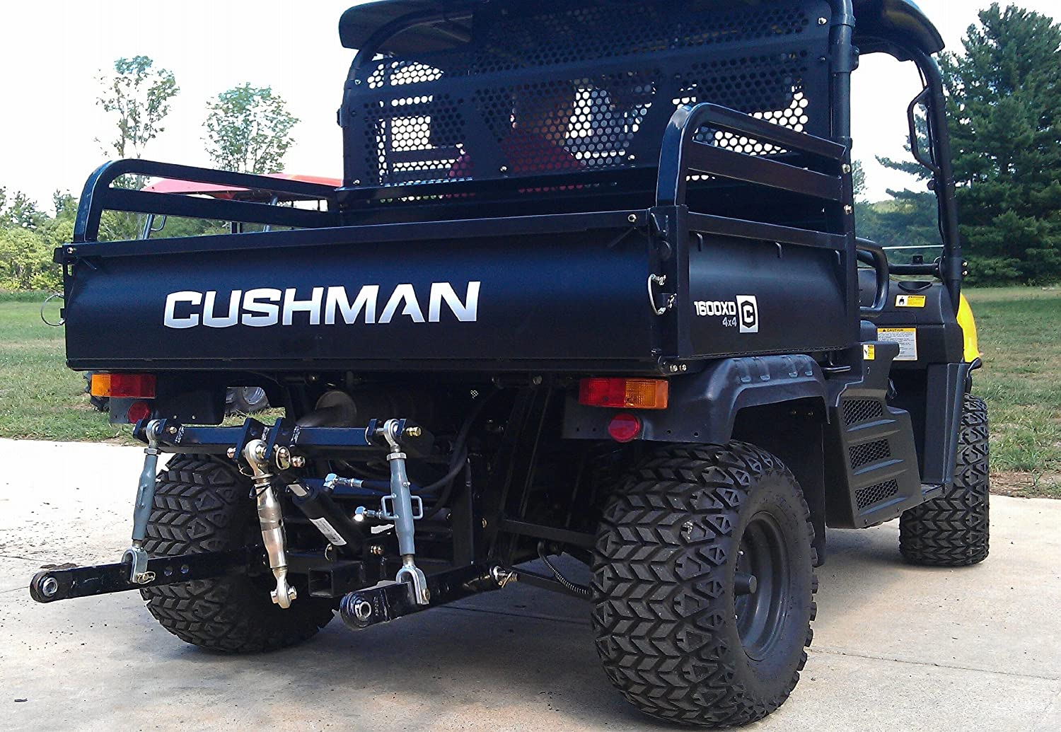 Farmboy Sport 3-point Hitch for Cushman 1600 XD and Bad Boy Buggies XD