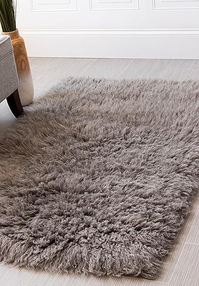 Beautiful Hand Woven Soft Wool Flokati Shag Rug 3 Feet By 5 Feet (3u0027