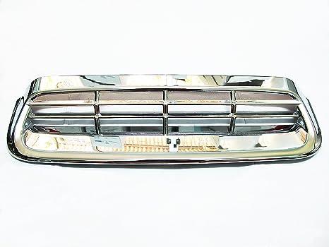 Nuevo cromo capucha Scoop Turbo cubierta borde para nuevo Toyota Hilux VIGO Champ 2012 2013