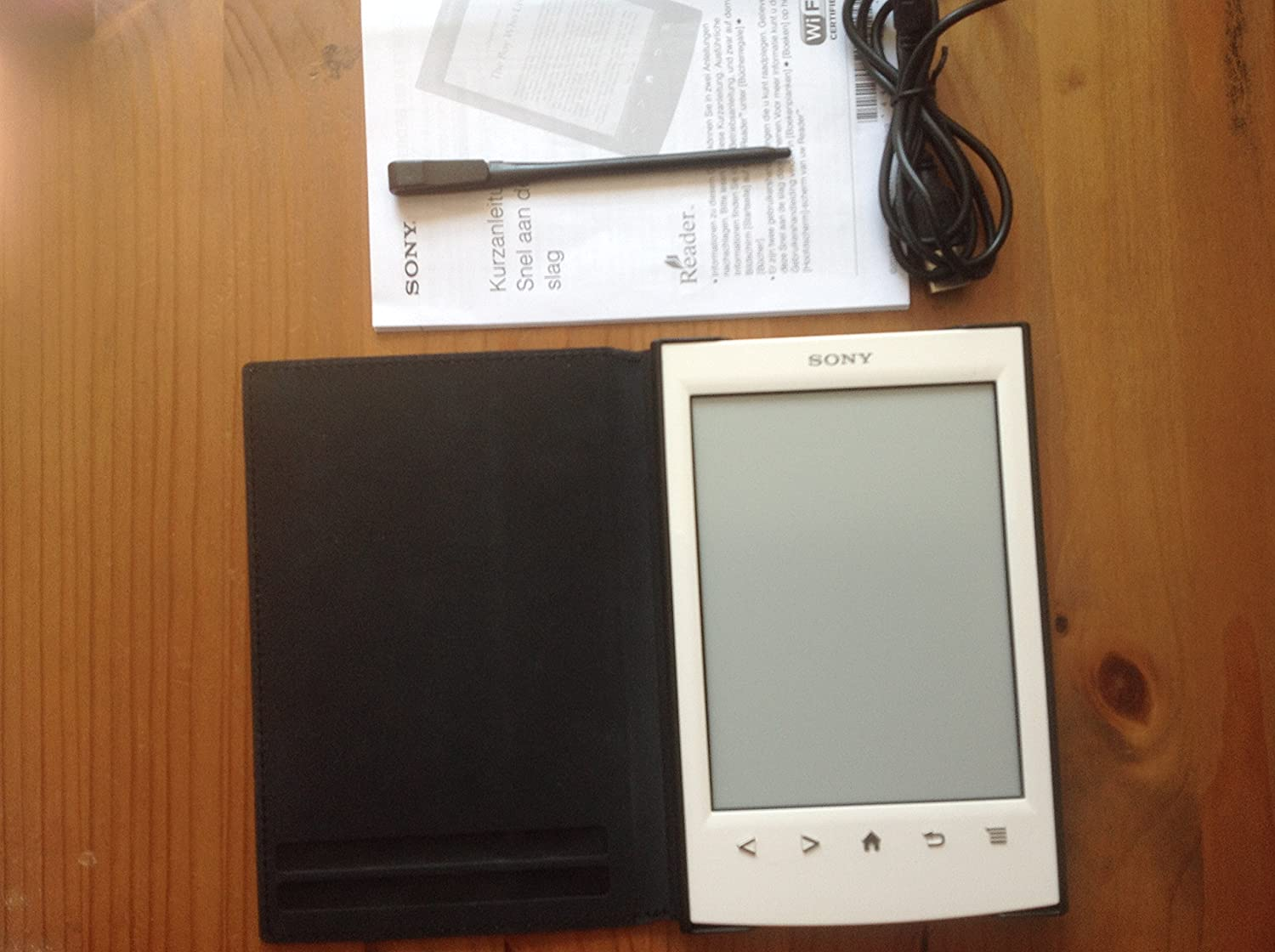 Sony - Sony Reader Prs-T2 Wi-Fi Blanco - Ebook: Amazon.es: Electrónica