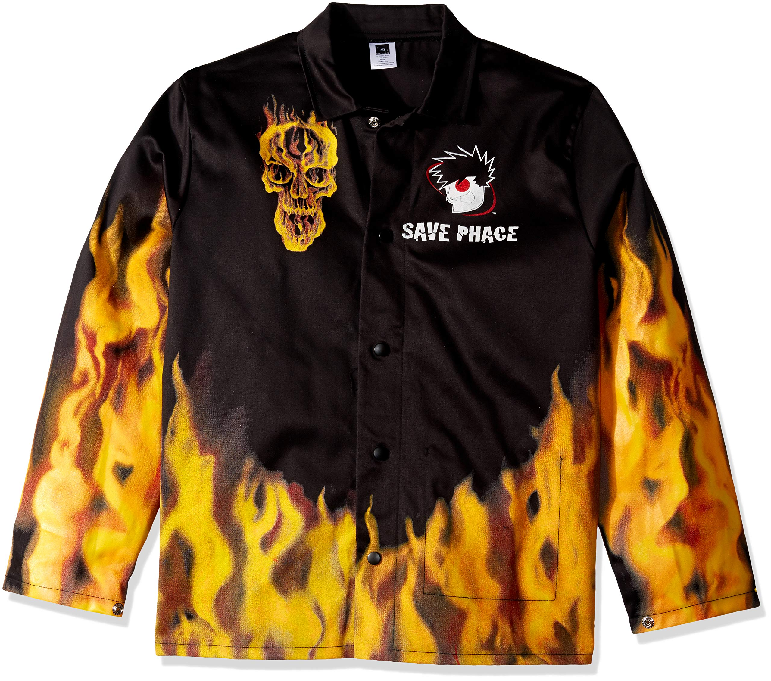Save Phace 3012411 Welding Jacket Fired Up Graphic Pattern X-Large