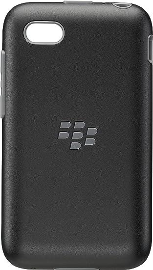 san francisco 2724b 5d86e BlackBerry OEM Premium Shell Case Cover for BlackBerry Q5 - Black/Granite