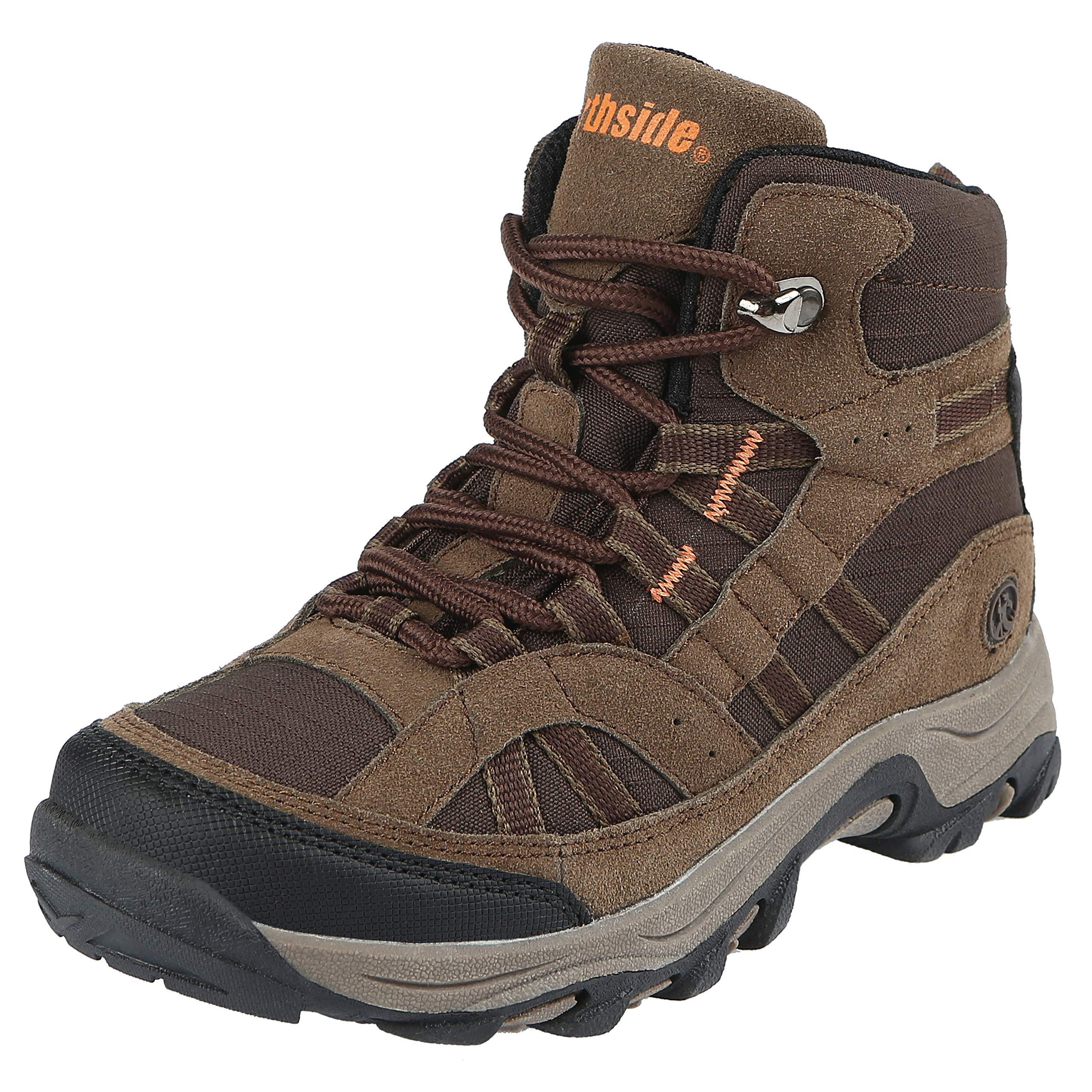 Northside Unisex Rampart MID Hiking Boot, Brown, 6 Medium US Big Kid