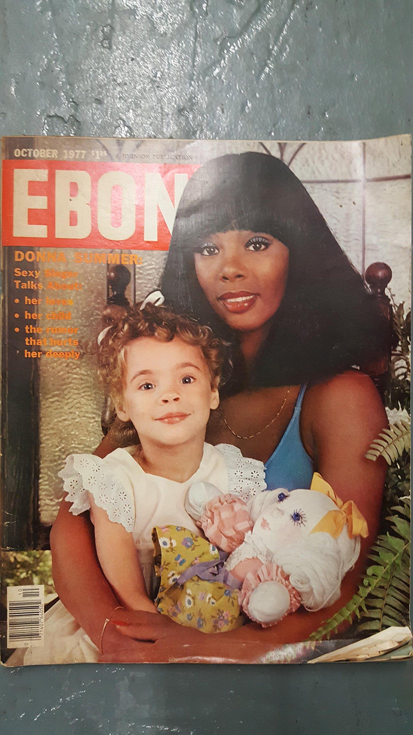EBONY MAGAZINE - OCTOBER 1977 - DONNA SUMMER COVER: Charles L ...