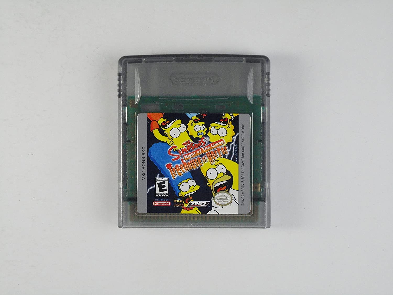 Gameplay color access code - Amazon Com The Simpsons Night Of The Living Treehouse Of Horror Nintendo Game Boy Color Video Games