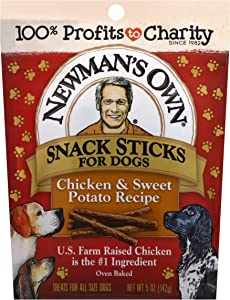 Newman's Own Snack Sticks for Dogs, 5-oz. (Pack of 8)
