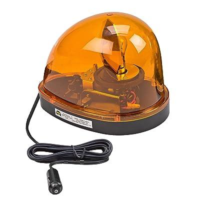 Wolo (3200-A) Emergency 1 Rotating Emergency Warning Light - Amber Lens, Magnet Mount: Automotive