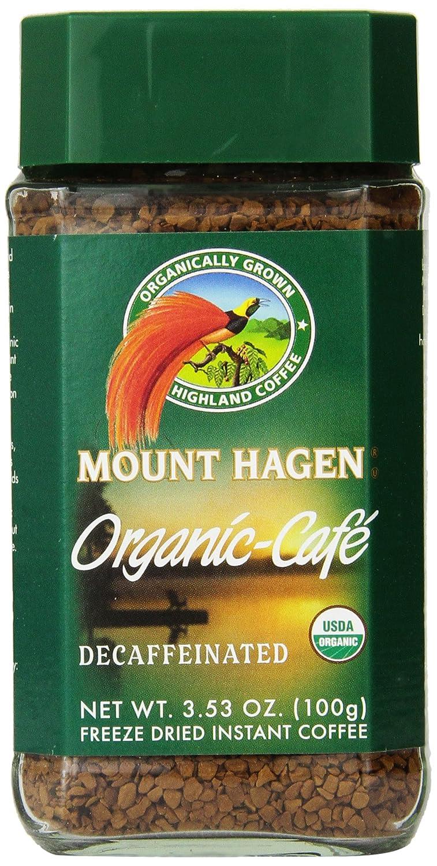 organic decaf instant coffee