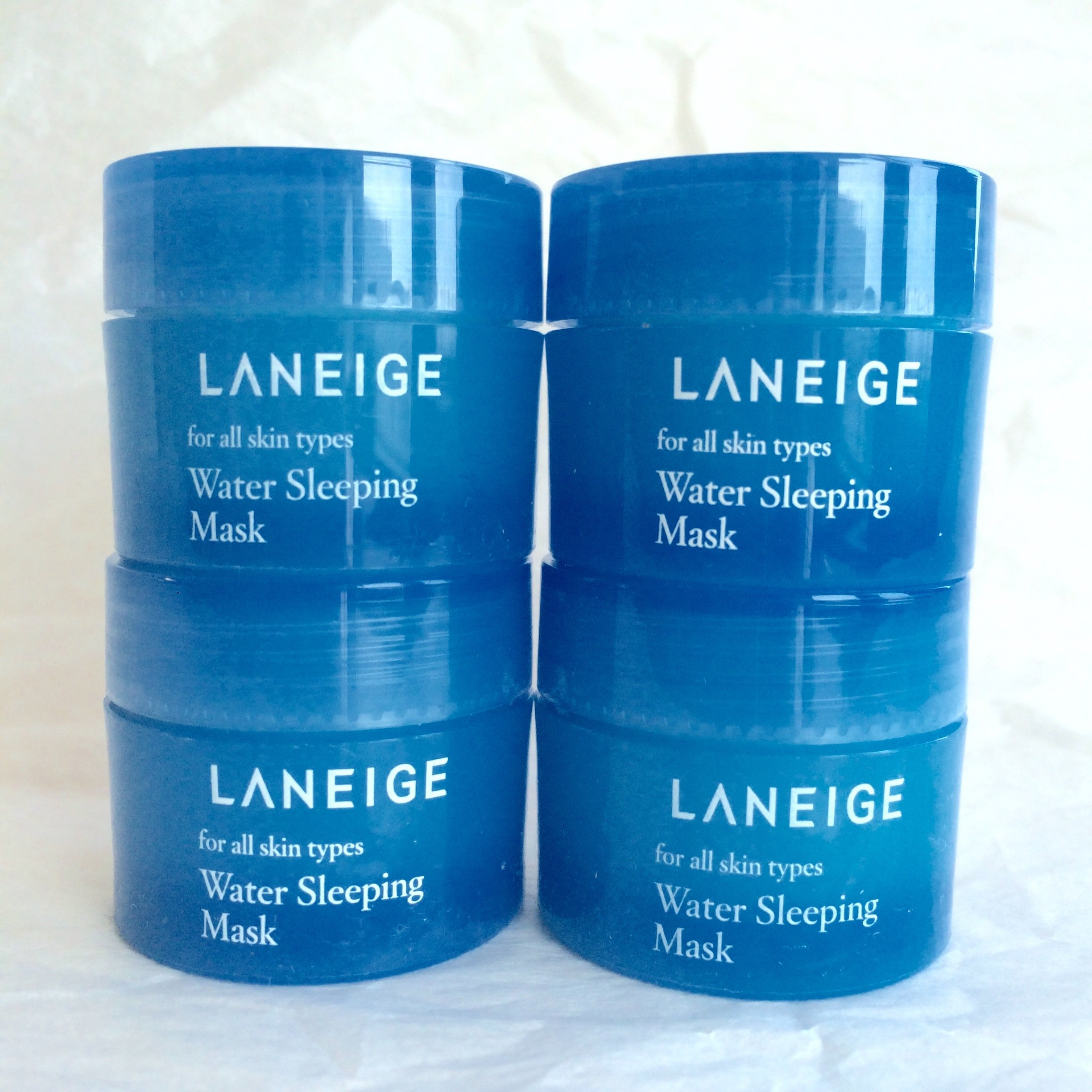 Laneige Lip Sleeping Mask 3g6pcs 18g Beauty 3gr 2015 New Version Water 60ml 15ml X 4pcs