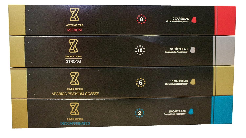 Capsulas de Café compatible con Maquinas Nespresso - 60 Unidades de varios sabores y intensidades de un gran Café: Amazon.es: Alimentación y bebidas