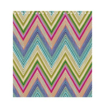 Scion Zig Zag Shower Curtain