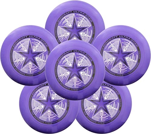 Discraft Ultra-Star 175g Ultimate Frisbee Sport Disc 6 Pack Choose Color