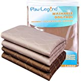 Paw Legend Washable Reusable Dog Pee Pads Super Absorbent (2 Pack) - Washable Dog Training Pads | Quality Travel Pee Pads for