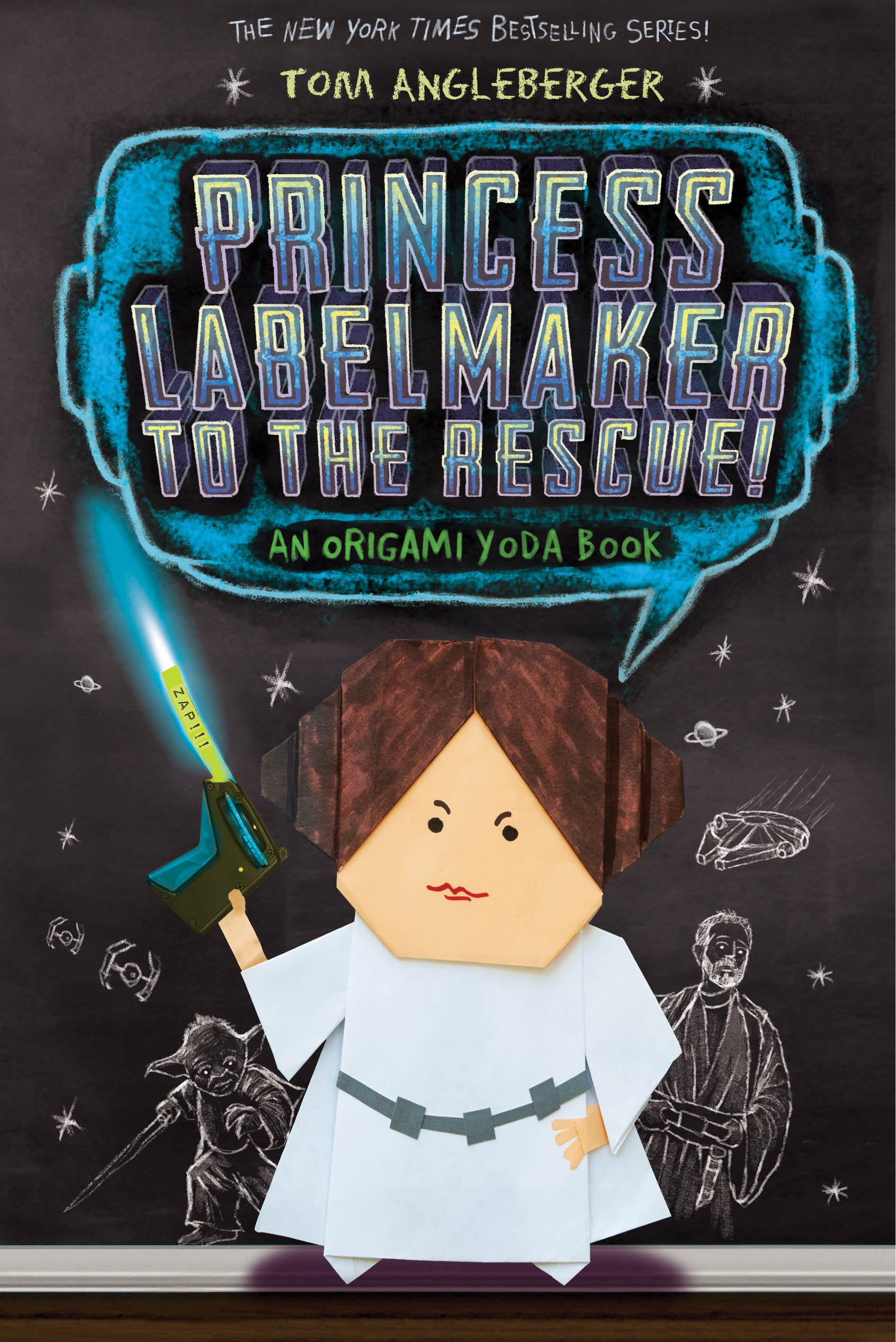 Princess labelmaker to the rescue an an origami yoda book 5 princess labelmaker to the rescue an an origami yoda book 5 origami yoda 5 amazon tom angleberger 9781419713552 books jeuxipadfo Images
