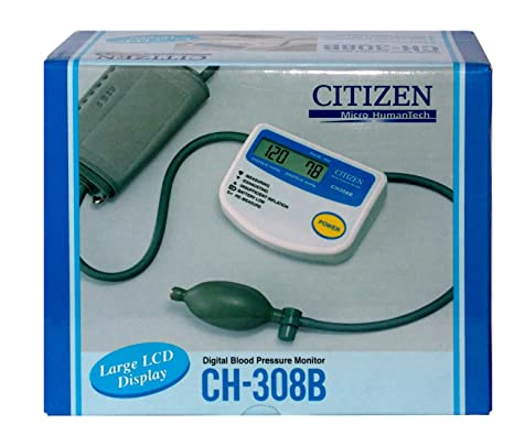 17fbd70b10273 Citizen CH-308B Medidor de Presión Arterial