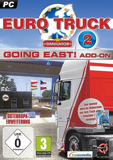 Euro Truck Simulator 2: Going East! (Add-On) [Importación Alemana]: Amazon.es: Videojuegos