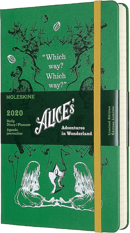 Moleskine 2019-20 Daily Alice - Agenda Diaria de Tapa Dura ...