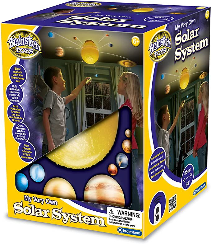 Eureka Brainstorm Toys - Sistema Solar Iluminado teledirigido ...