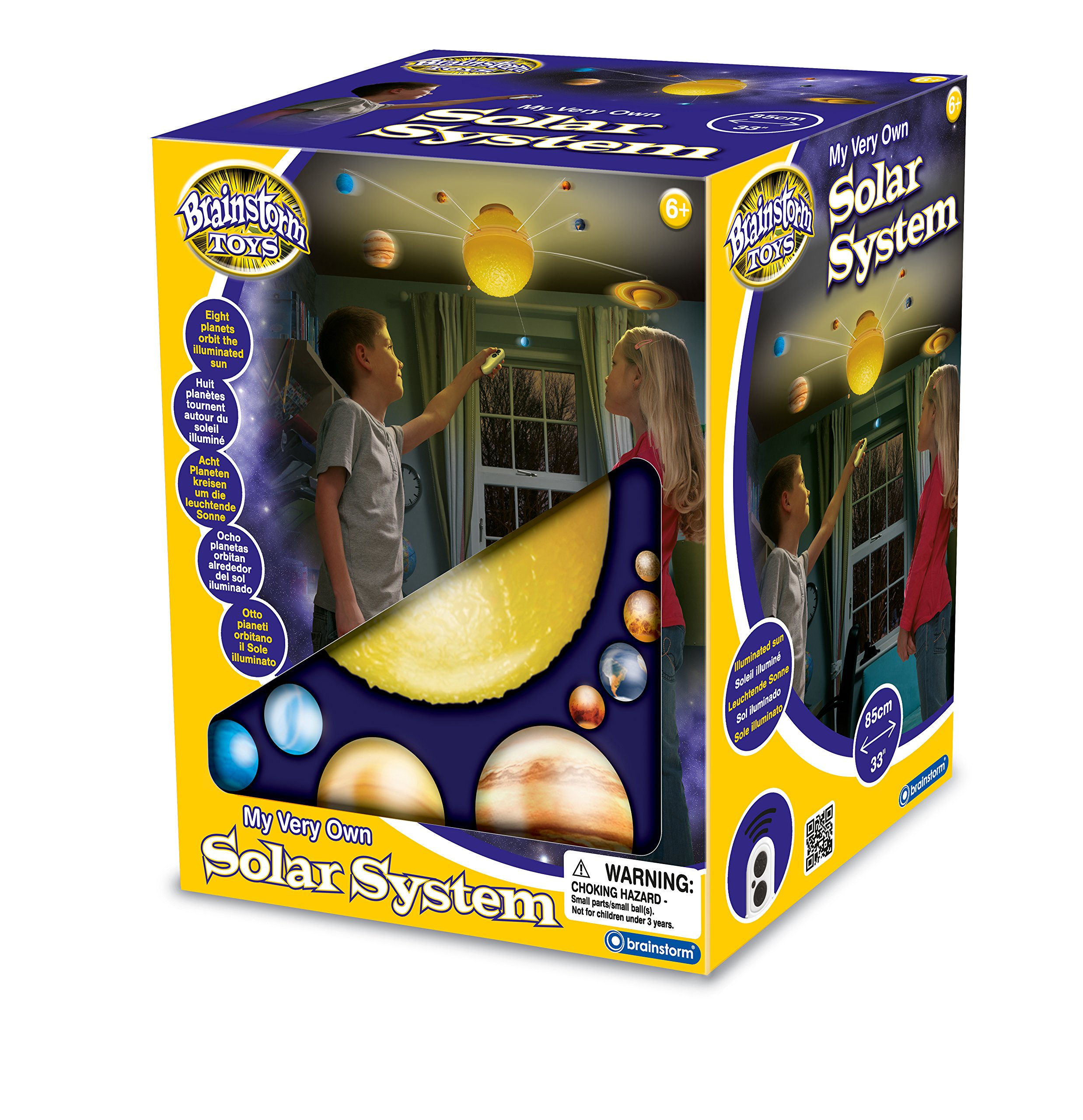 Brainstorm Toys E2002 RC Illuminated Solar System by Brainstorm Toys