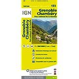 Top100151 Grenoble/Chambery 1/100.000