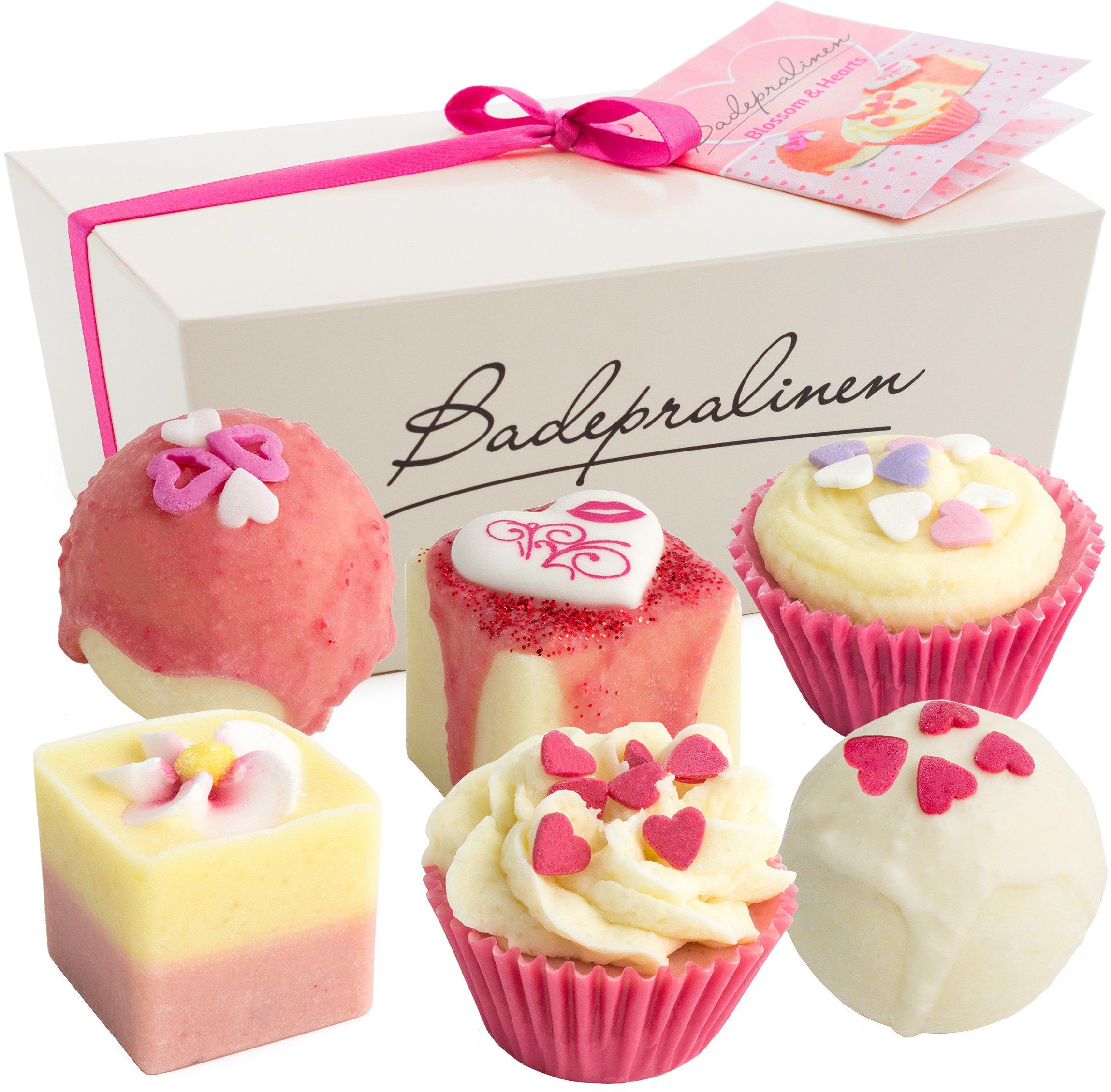 BRUBAKER Cosmetics - Juego de 6 bombas de baño Blossom & Hearts, hechas
