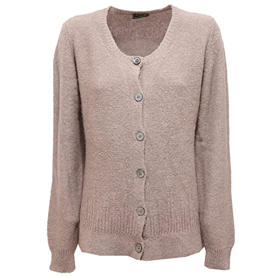 buy online 34ff3 dffcc 2226R maglione FRED PERRY beige cardigan donna lana sweater ...